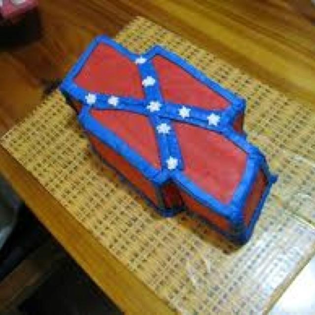 Rebel Flag Fruit Cake Ideas 80350 | Pin Redneck Wedding Cake