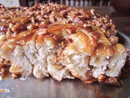 Cinnamon Pecan Sticky Rolls | Sourdough | Pinterest