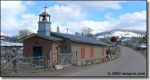 Truchas, New Mexico - high in the Sangre de Cristo mountains, where Robert Redford filmed Milagro Beanfield War.