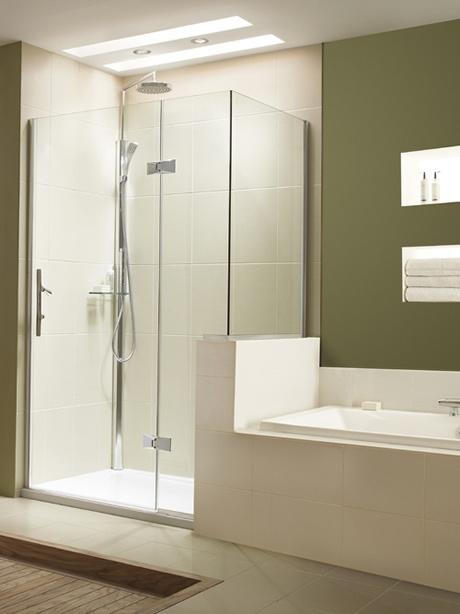 Dwarf wall shower enclosure bedroom ideas pinterest
