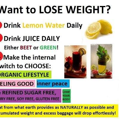 want to lose weight