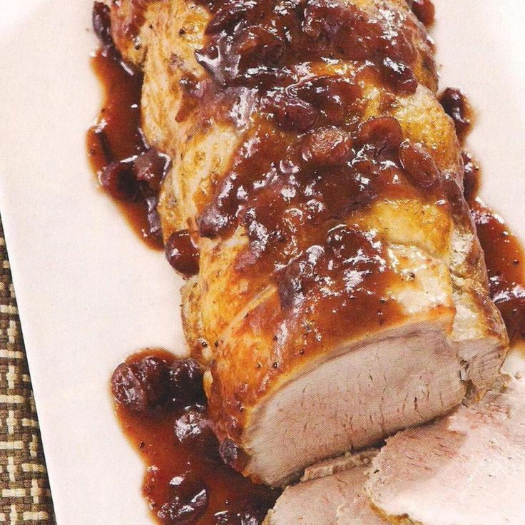 Pot-Roasted Pork Loin With Fall Fruits Recipe — Dishmaps