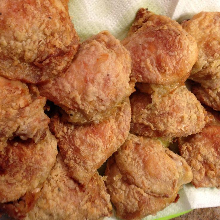 Oven-fried Chicken