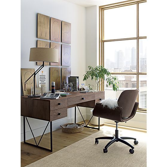 Hughes Office Chair | Crate and Barrel | Work Ethic