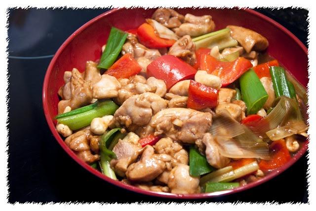 Stir Fry Cashew Chicken   PSILovetoCook.com Recipes Collection   Pint ...