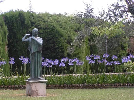 Villa Cimbrone Gardens Ravello Travel Pinterest