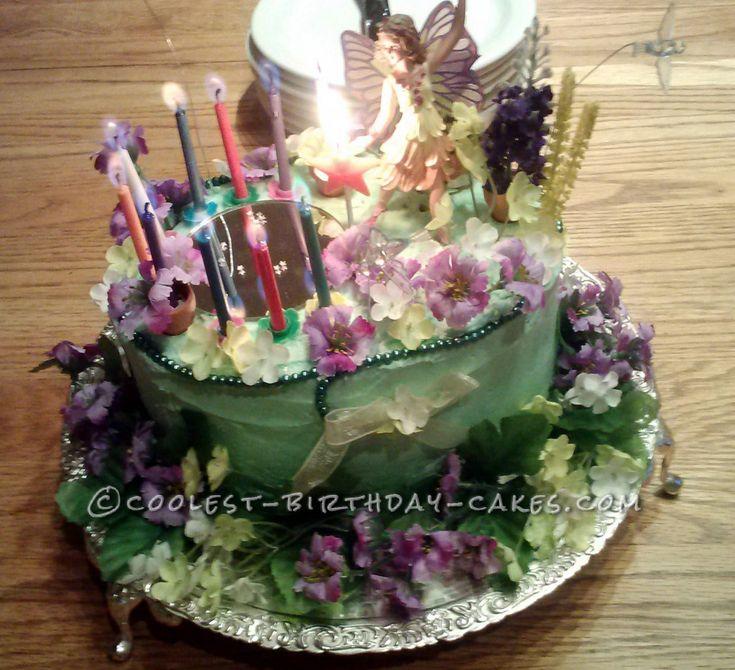 ... Fairy Garden Cake... This website is the Pinterest of birthday cake