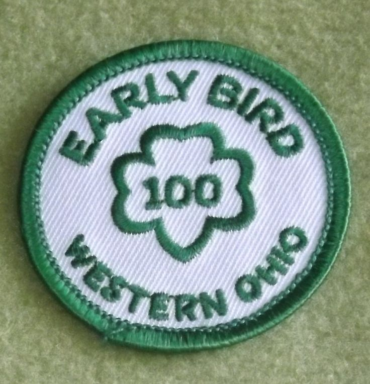 girl scouts western ohio early bird girl scout 100th