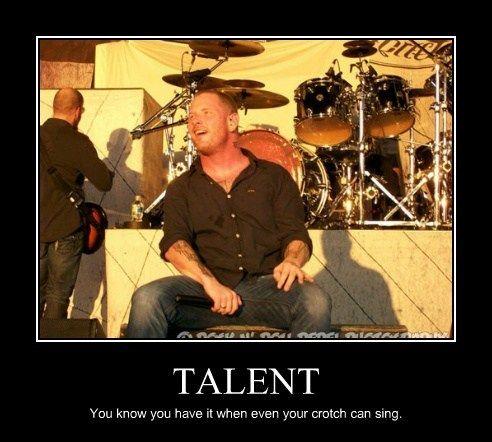 Talent corey taylor memes lyrics amp quotes pinterest