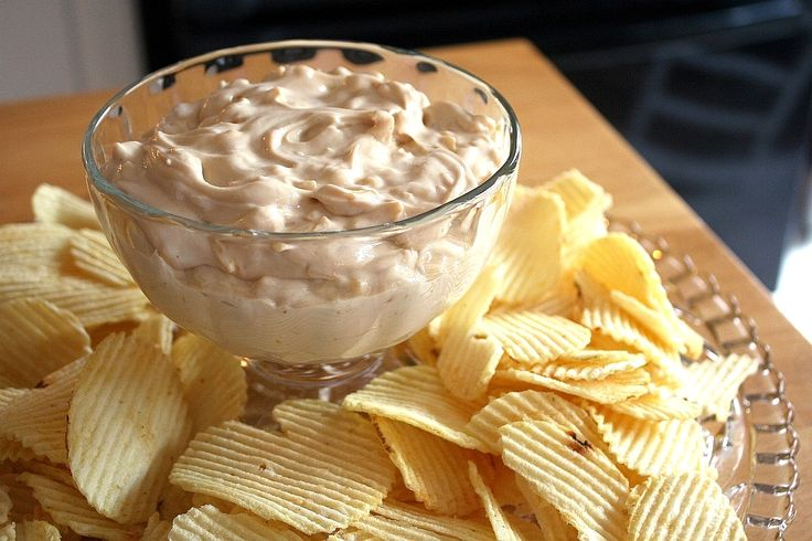 french onion dip - best dip ever | yummy | Pinterest