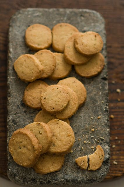 Rosemary Shortbread Cookies | f o o d | Pinterest
