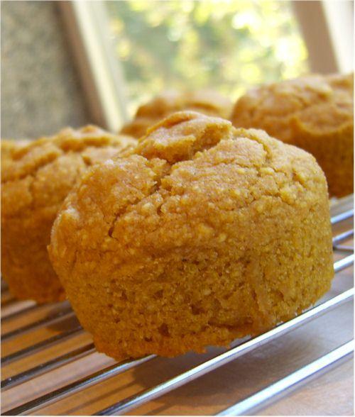... Sweet Pumpkin Cornbread Muffins Gluten-Free, Dairy-Free, a