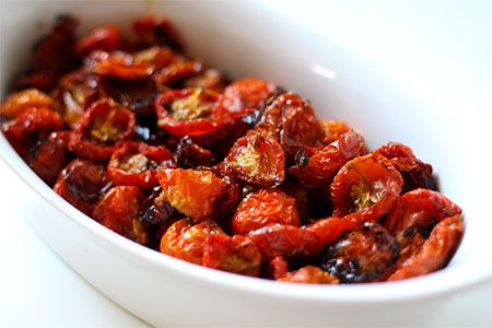 Slow roasted tomatoes | delicous food | Pinterest