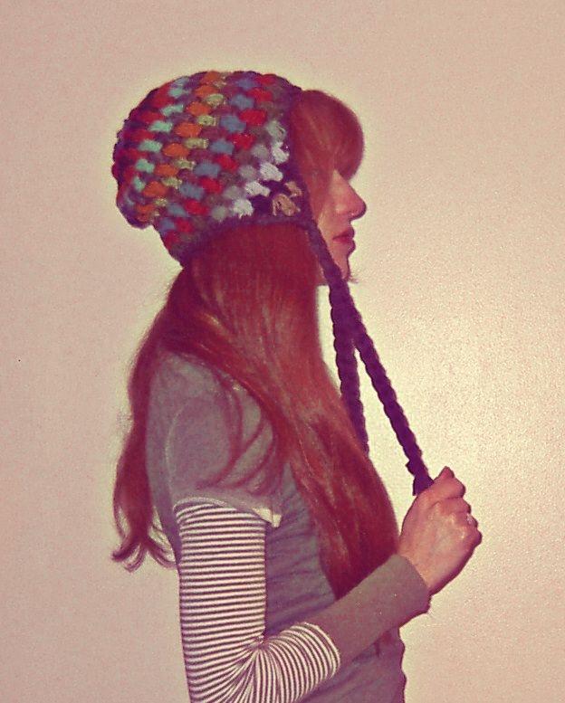 Crochet Earflap Hat : crochet earflap hat handmade by me Pinterest