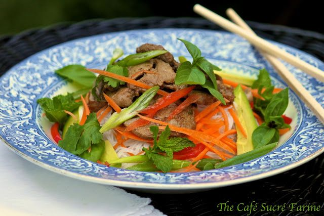The Café Sucré Farine: Thai Pork and Noodle Salad with a recipe for ...