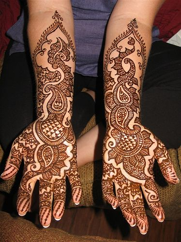 Henna tattoo hindu wedding