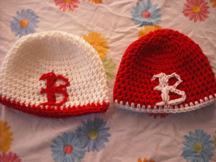 Crocheting Letters Into A Hat : Crochet Hats with Letter Crochet Beanies Pinterest