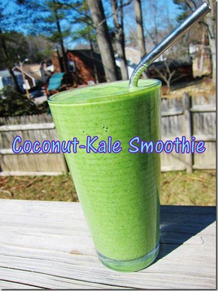 kale smoothies