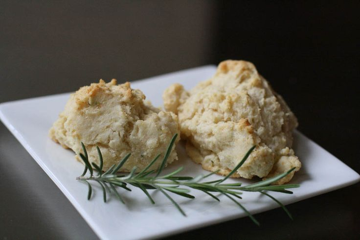 Rosemary Cream Drop Biscuits | Fatty McGoo Recipes | Pinterest