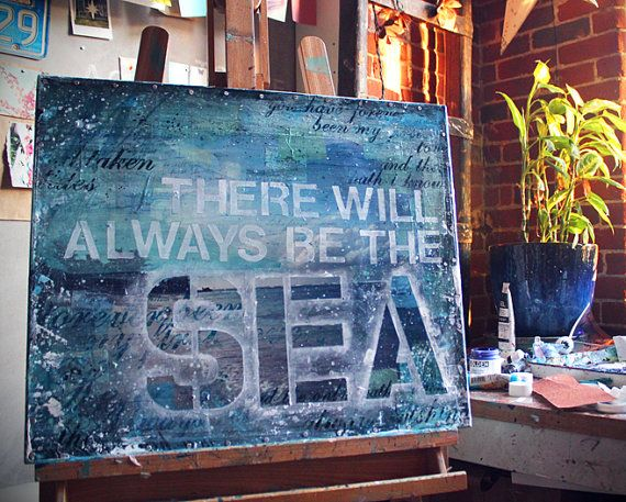 """There will always be the sea."" - Another beautiful piece by maechevrette."
