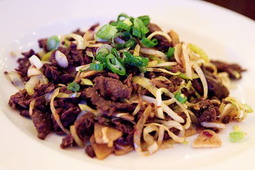 stir-fried beef with cumin | Feeding Frenzy | Pinterest