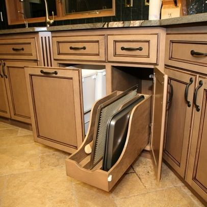 custom cabinets roll out storage kitchens pinterest 10 low cost kitchen upgrades hgtv s decorating amp design