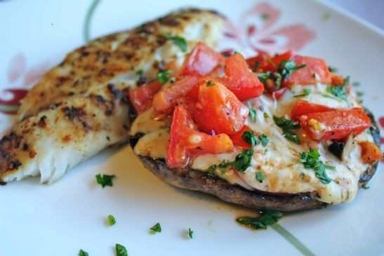 Grilled stuffed portobello mushrooms | Recipes:) | Pinterest