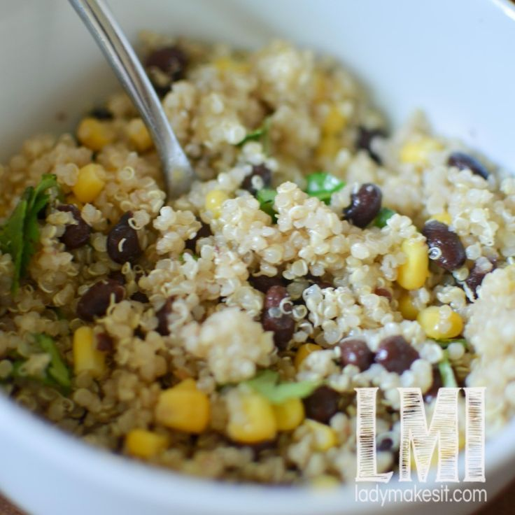 Green Bean + Black Quinoa Salad Recipes — Dishmaps