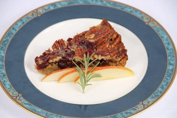 Pecan Cranberry Tart #gluten-free | Gluten-Free Desserts | Pinterest