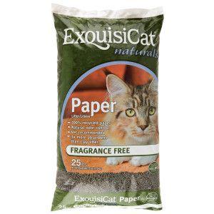 Exquisicat Naturals Paper Cat Litter
