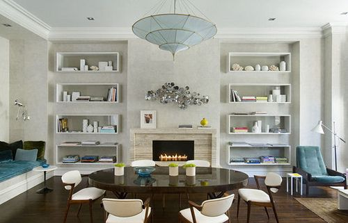 Floating Shelves In Living Room Stunning Decorating Design