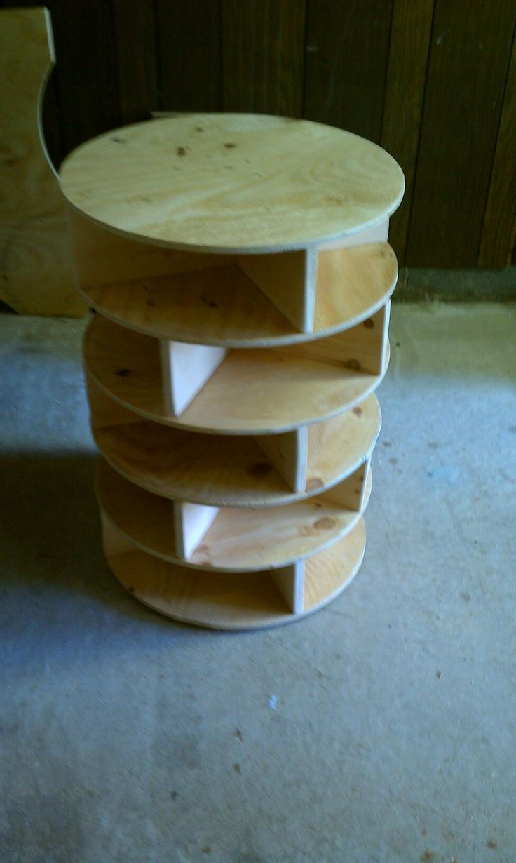 Want to make a lazy susan shoe rack - Talk to us! Join the DIY ...