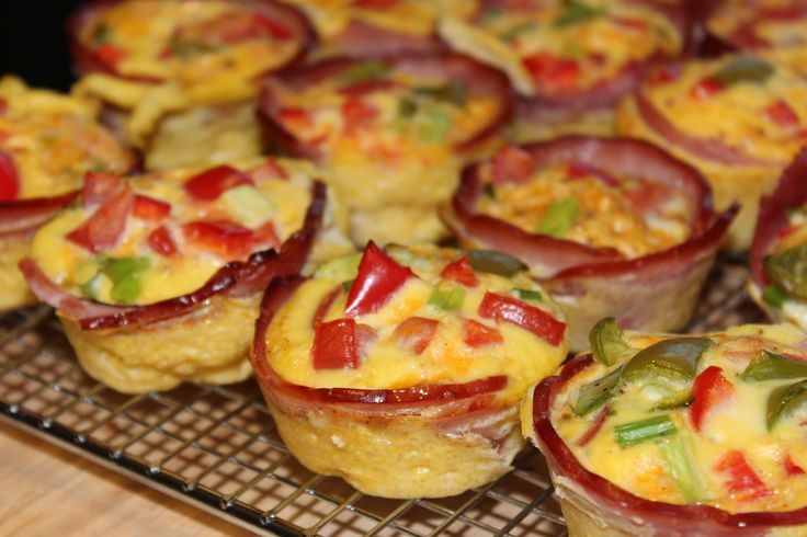 Mini Omelets | You Should Make This For Me | Pinterest