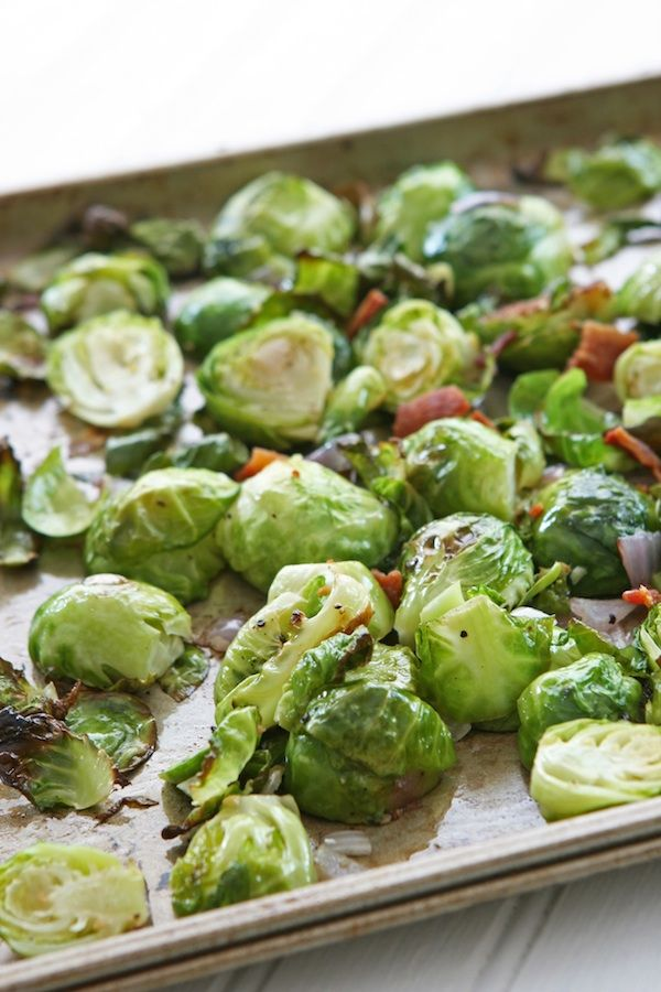 Brussels Sprouts with Bacon - Serves 4 - A delicious Side Dish From ...