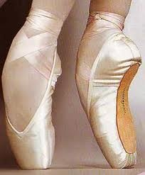 Russian Pointe shoes; amazing feet