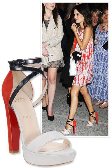 "ChristianLouboutin's ""Summerissima"" heels"
