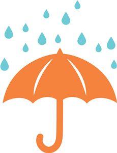 Silhouette Online Store - View Design #8470: cute umbrella