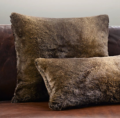 Rh Floor Pillows : Pillows & Throws Restoration Hardware Home accessories Pinterest