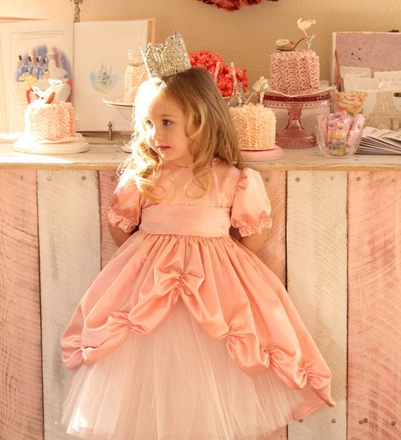 Dancing on a Cloud Princess Gown in Pink by girlinspired on Etsy, $140.00