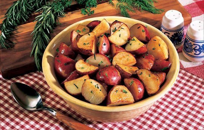 Extra-Crispy Potatoes | Sides | Pinterest