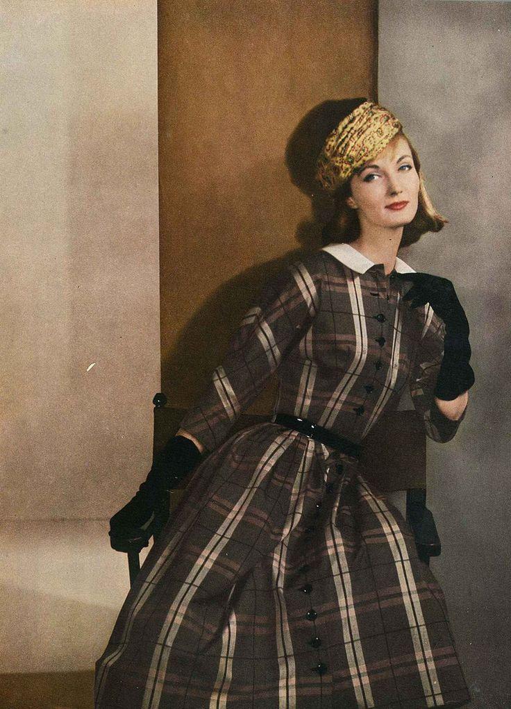 Evelyn Tripp, July Vogue 1956