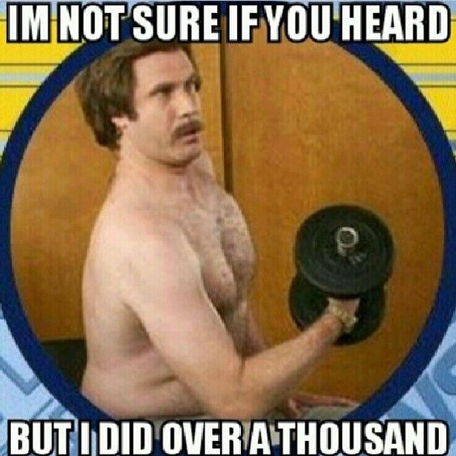 Funny Ron Burgundy Meme : Bodyrock tv health fitnesss pinterest