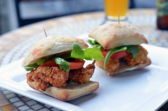 Fried Oyster Sliders | Fish/Seafood | Pinterest