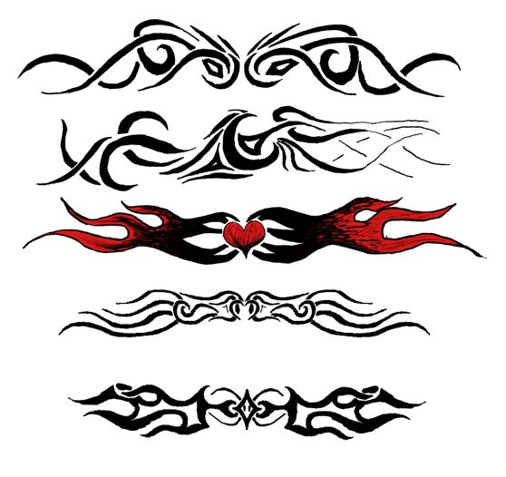 Random_armband_tattoos_