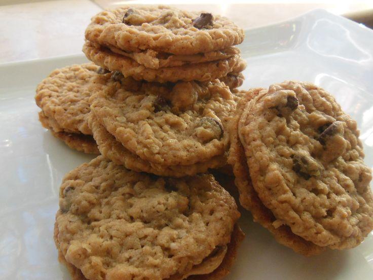 "PEANUT BUTTER COOKIE SANDWICH"": Peanut Butter, Oatmeal & Chocolate ..."