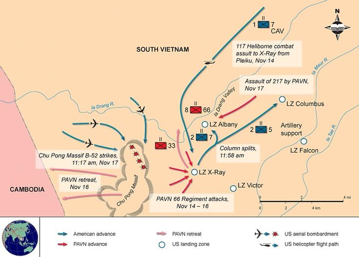 The battle of the ia drang valley 1965 war vietnam pinterest