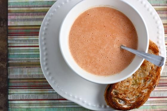 grilled cheese and creamy tomato soup | Gourmet - Soups | Pinterest