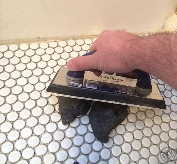 how to install penny tile i love penny tile in a bathroom: penny tiles