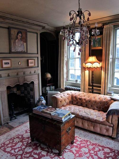 Cozy And Elegant Sitting Room Home Decor Pinterest