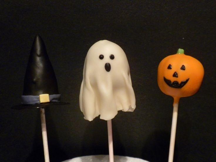 Halloween cake pops :)   Cake pop crushes   Pinterest